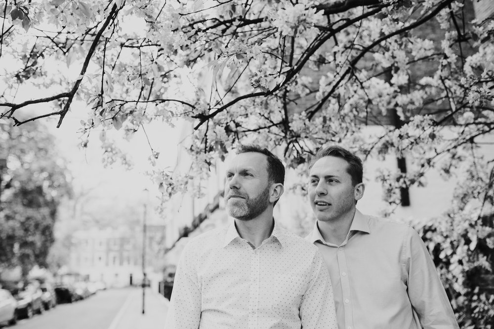 31 same-sex Chelsea wedding bnw couple portrait.jpg