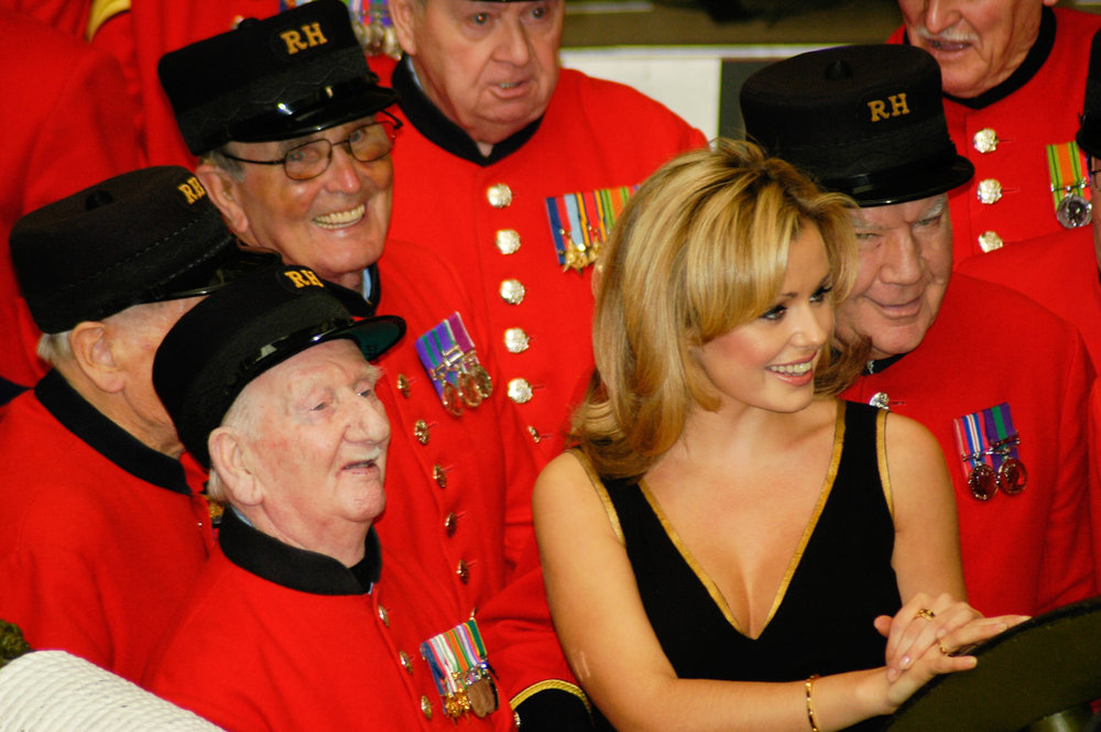36-Dame Vera Lynn 90th birthday Imperial war Museum Royal Hospital Band Chelsea Katherine Jenkins.jpg