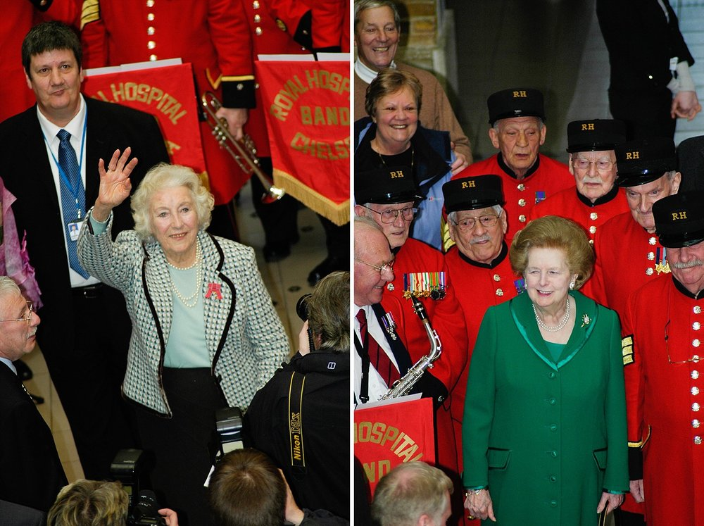 37-Dame Vera Lynn 90th birthday Imperial war Museum Margaret Thatcher.jpg