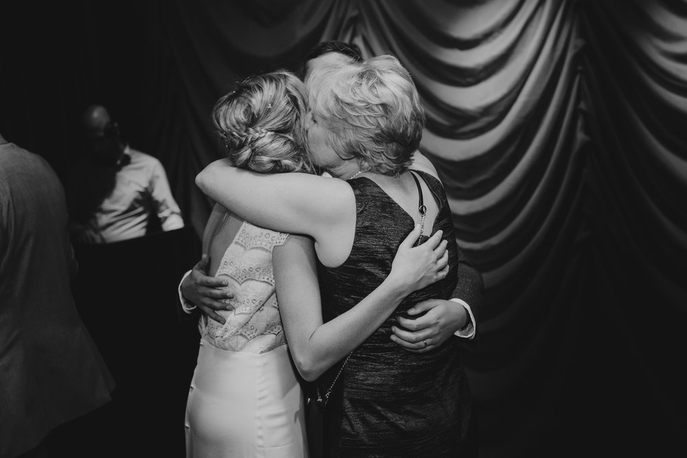 Century Club wedding mother embraces bride groom dancefloor.jpg