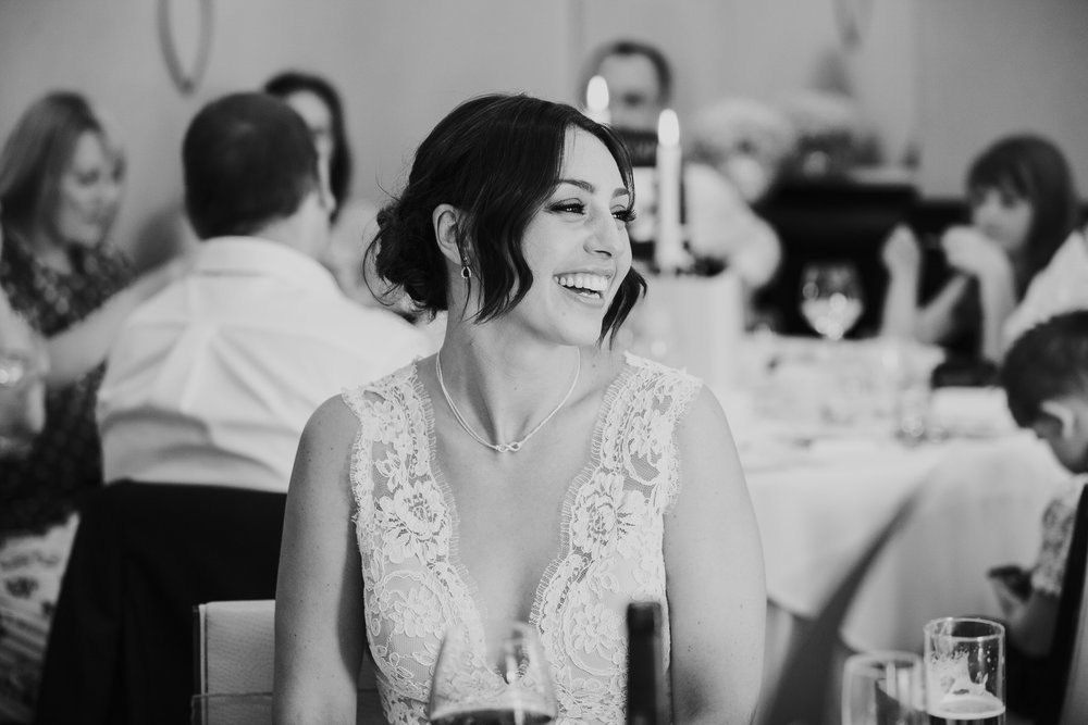 wedding speeches bride looks lovingly groom Bingham Hotel Richmond.jpg