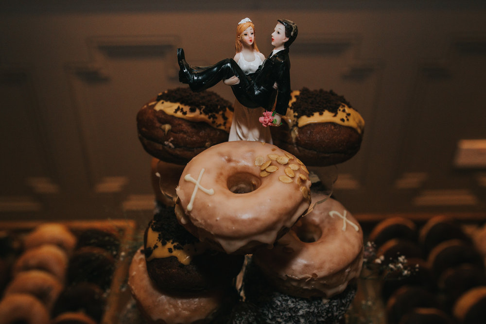 Doughnut wedding tower cake Century Club.jpg