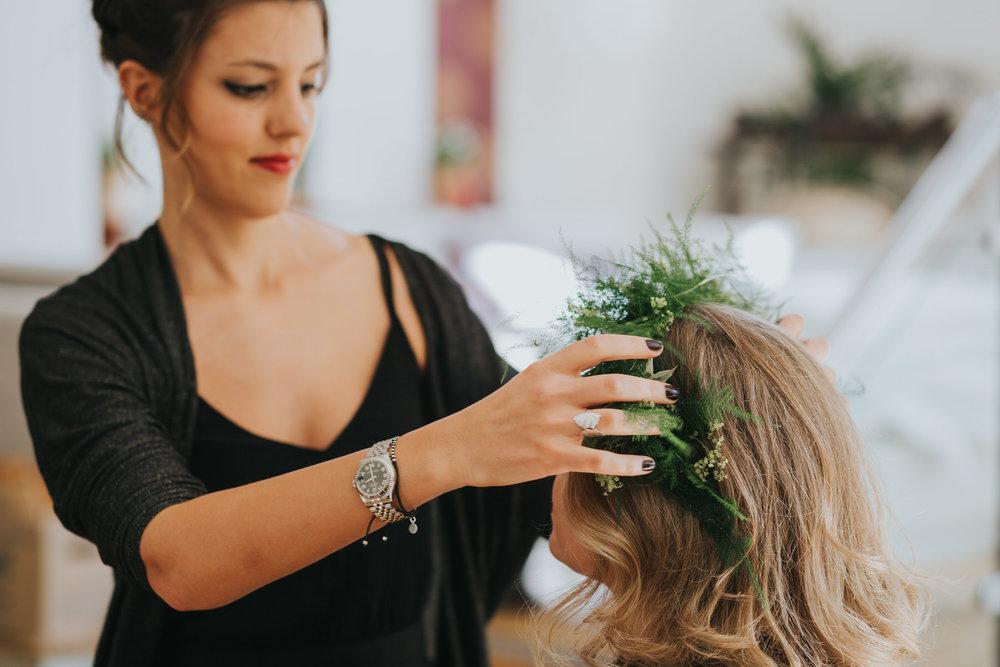 11 hairdresser places bridesmaid fern headpiece forest wedding jpg.jpg
