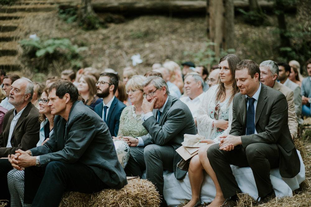 35 emotional guest candids Paper Mill Woodland Wedding.jpg