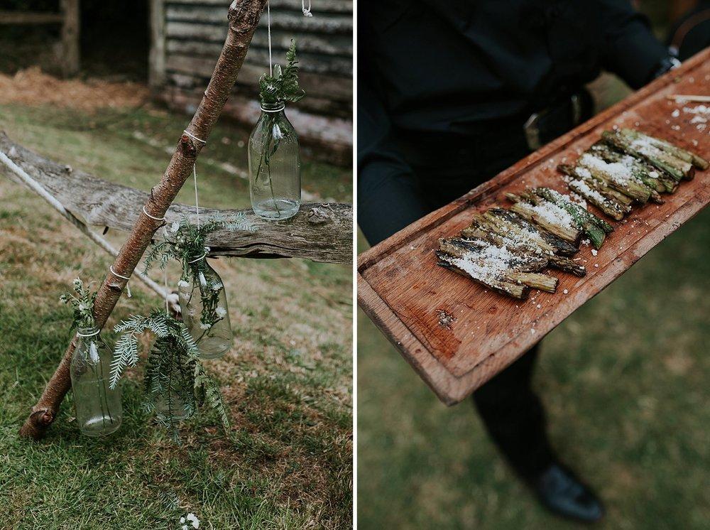 63 festival woodland wedding fern bottle details.jpg