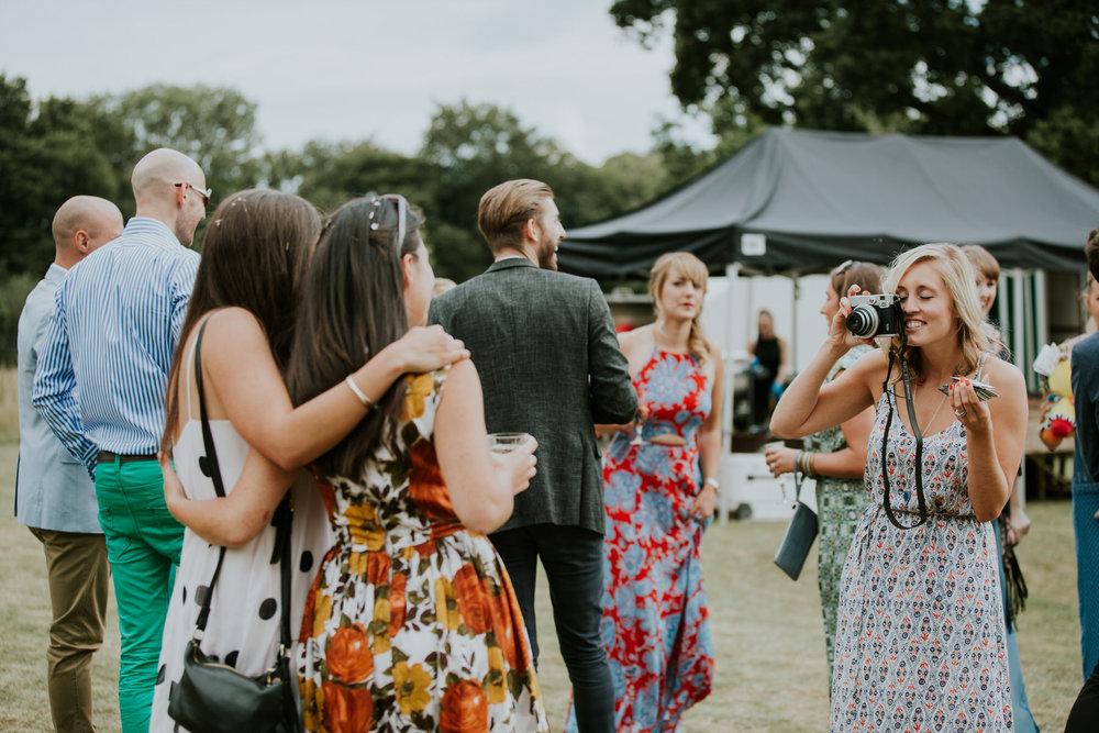 95 wedding guests enjoying themselves Paper Mill Kent.jpg