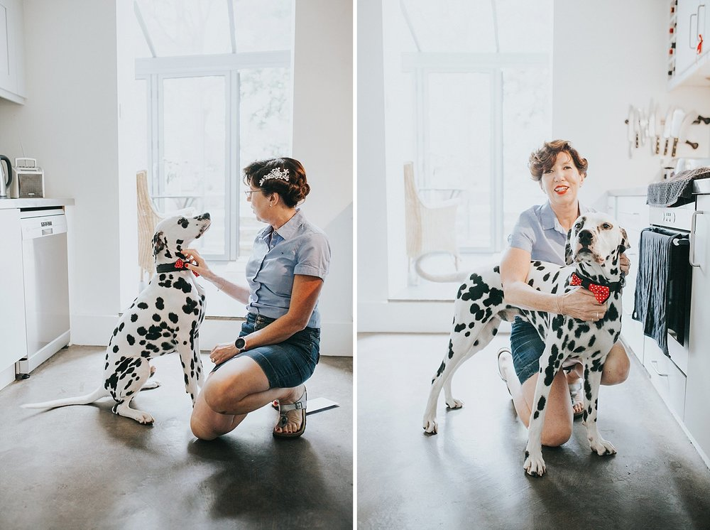 17 Islington wedding bridal prep dalmatian bride.jpg