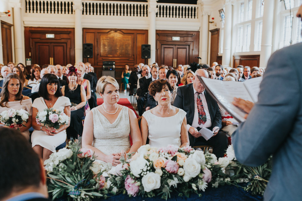 90 Finsbury Town Hall wedding ceremony two brides.jpg