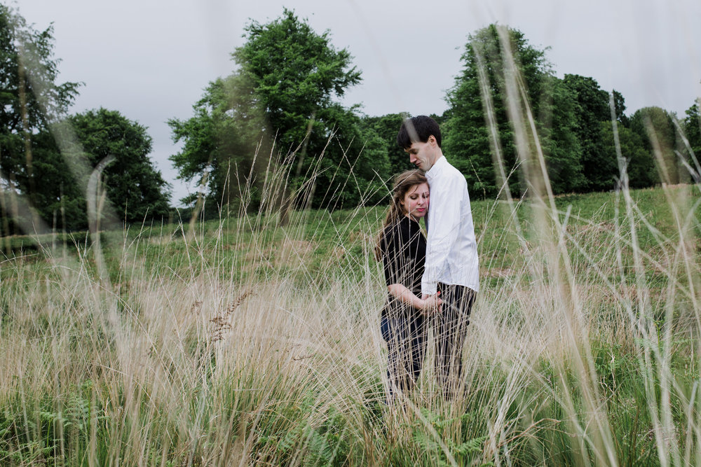 11-Richmond relaxed pre wedding photography tall yellow grasses.jpg
