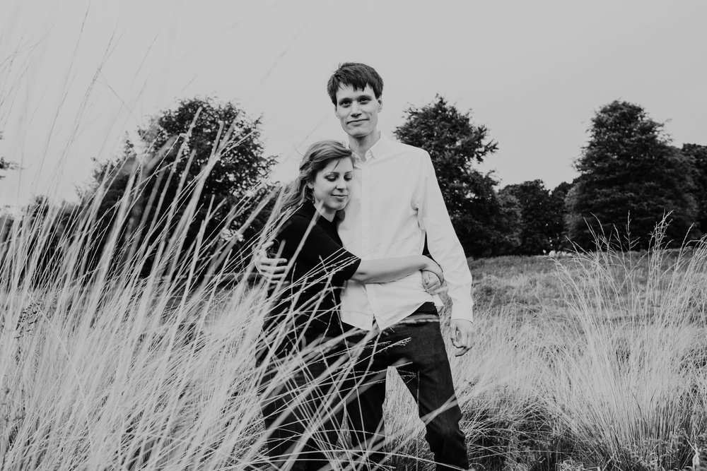 21-Richmond relaxed pre wedding photography tall yellow grasses.jpg