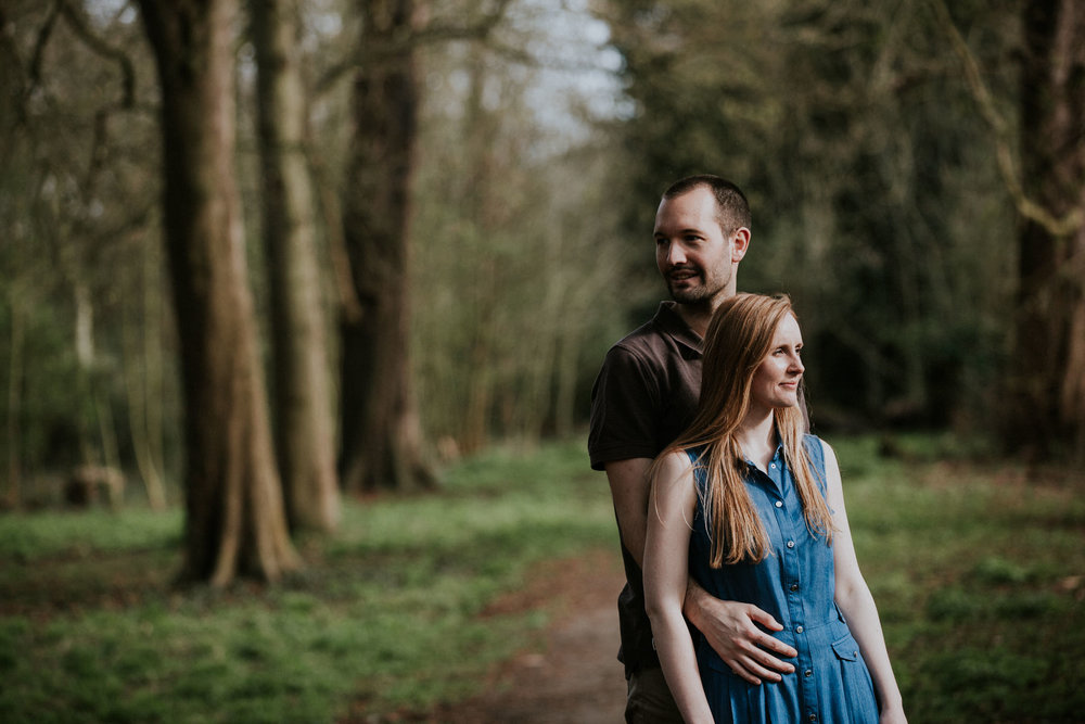 14-romantic forest engagement photography London.jpg