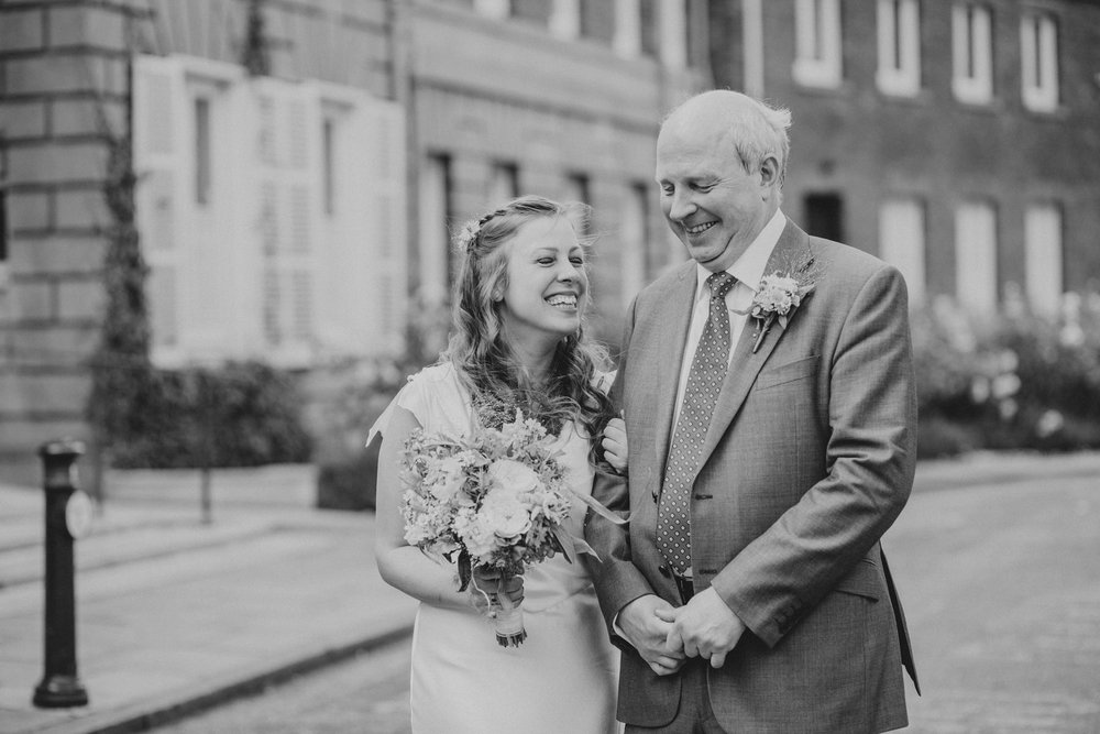4 bride with father outside York House .jpg