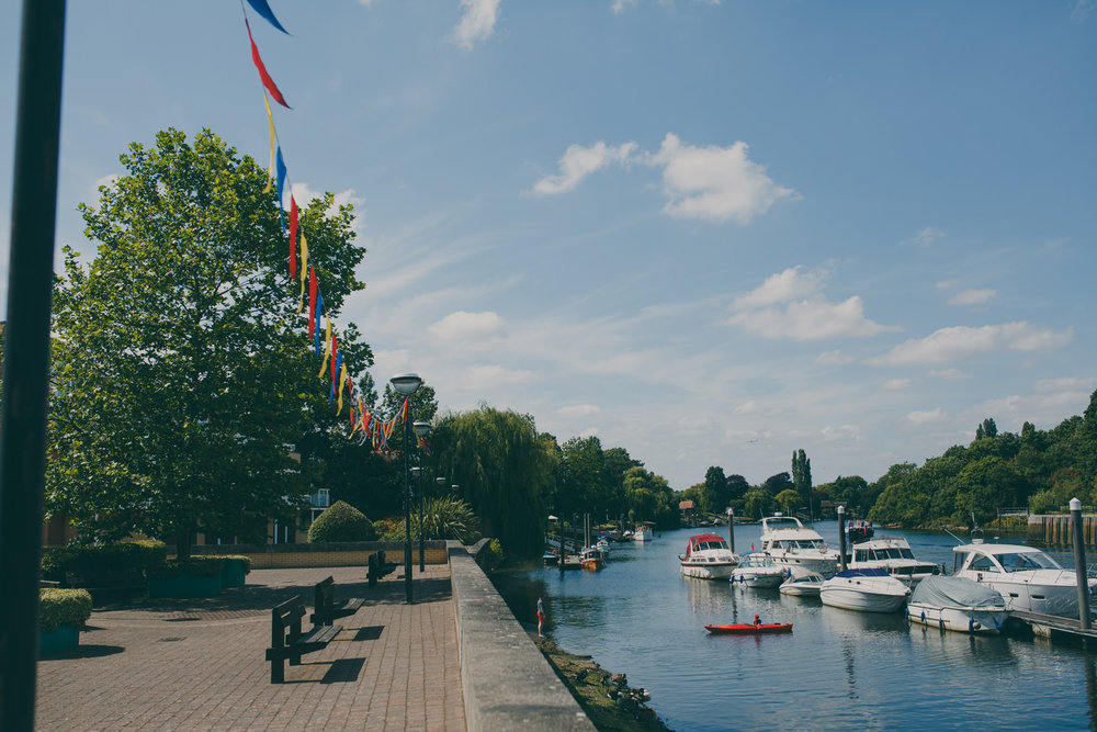 82 Teddington The Wharf riverside during summer.jpg
