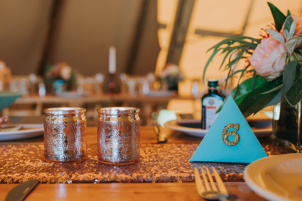 162 3d table number gold sequin table runner Yolande De Vries Photography.jpg