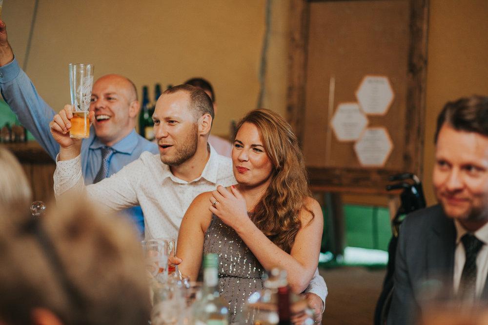 265 guest reactions speeches Knepp Castle documentary wedding photographer.jpg