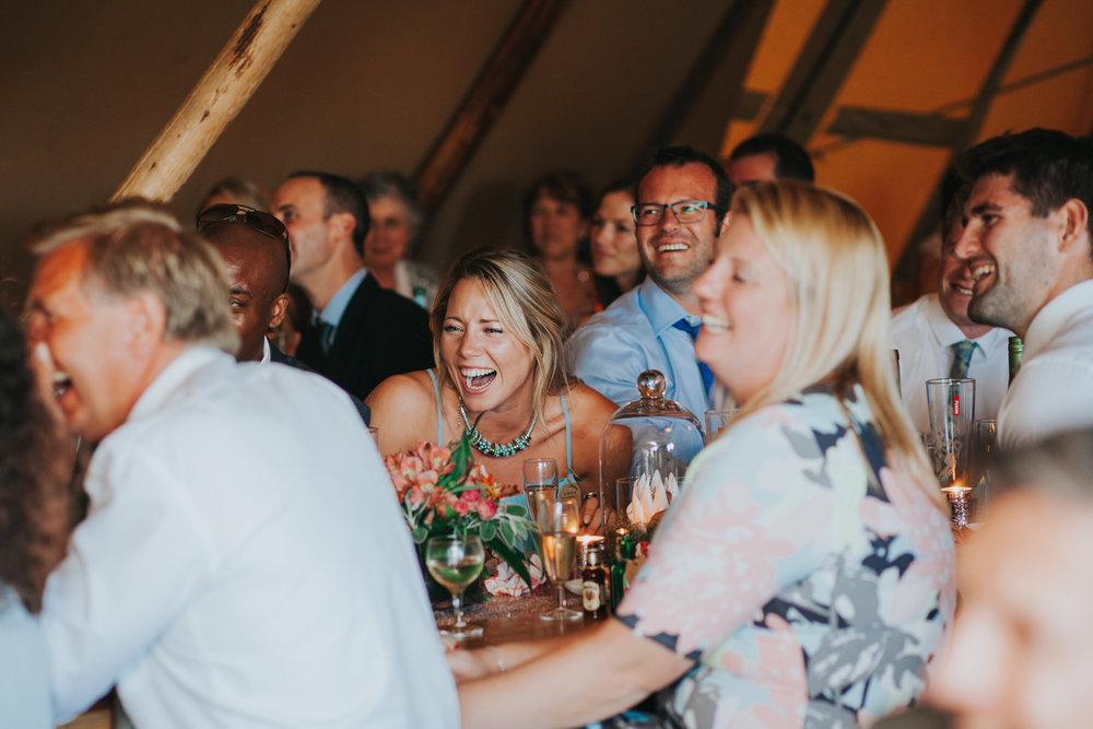 275 guest reactions speeches Knepp Castle documentary wedding photographer.jpg