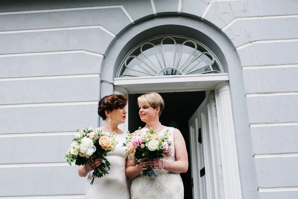 Finsbury Town Hall Wedding couple portrait.jpg