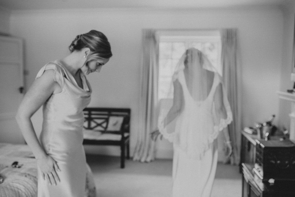 blurry bride bridesmaid Yolande De Vries Photography.jpg
