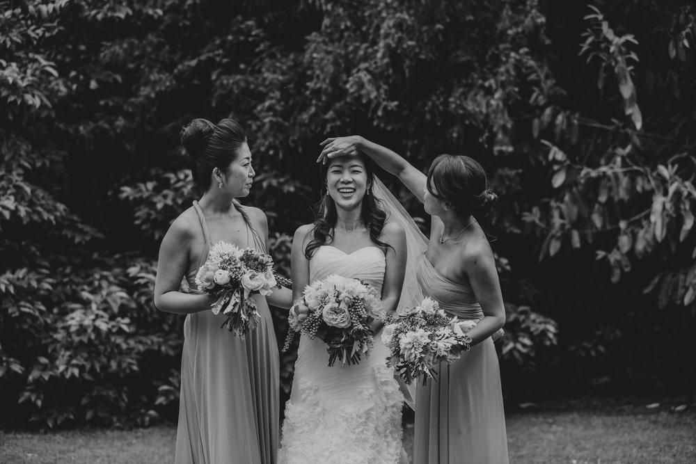 Bride Bridesmaids Woodlands Hotel surrey wedding.jpg