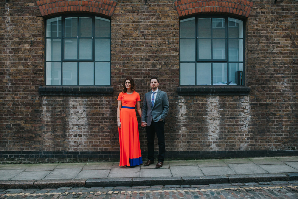 St Chads Place gritty urban couple wedding portraits.jpg