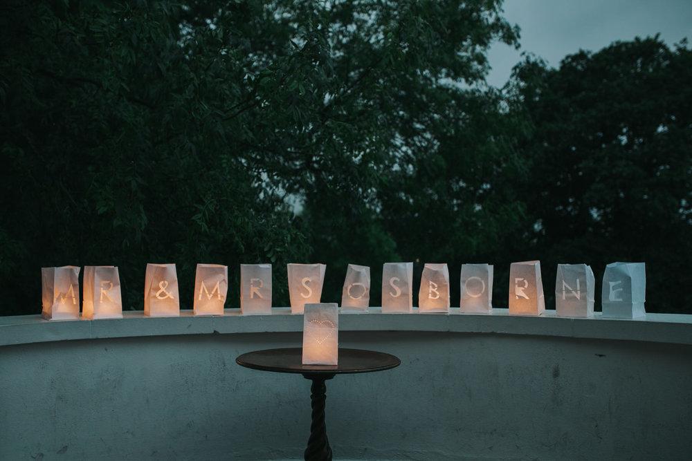 candle decor Belair House Dulwich wedding.jpg