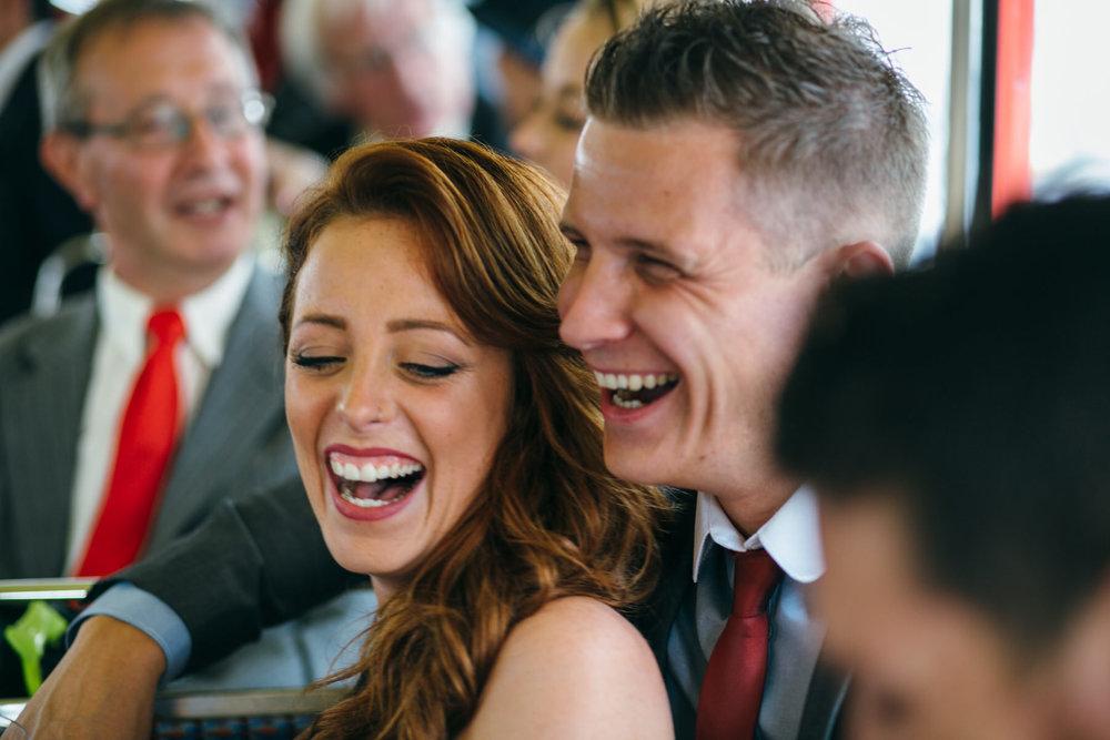clissold house wedding photographer wedding bus reportage photos.jpg