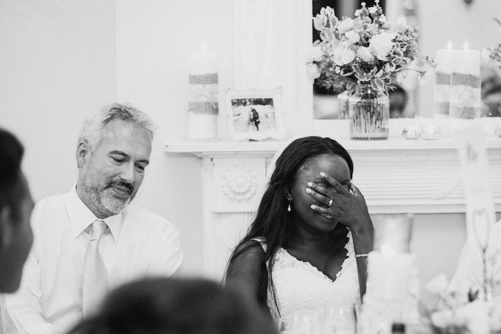 Belair House bride reaction during speeches.jpg
