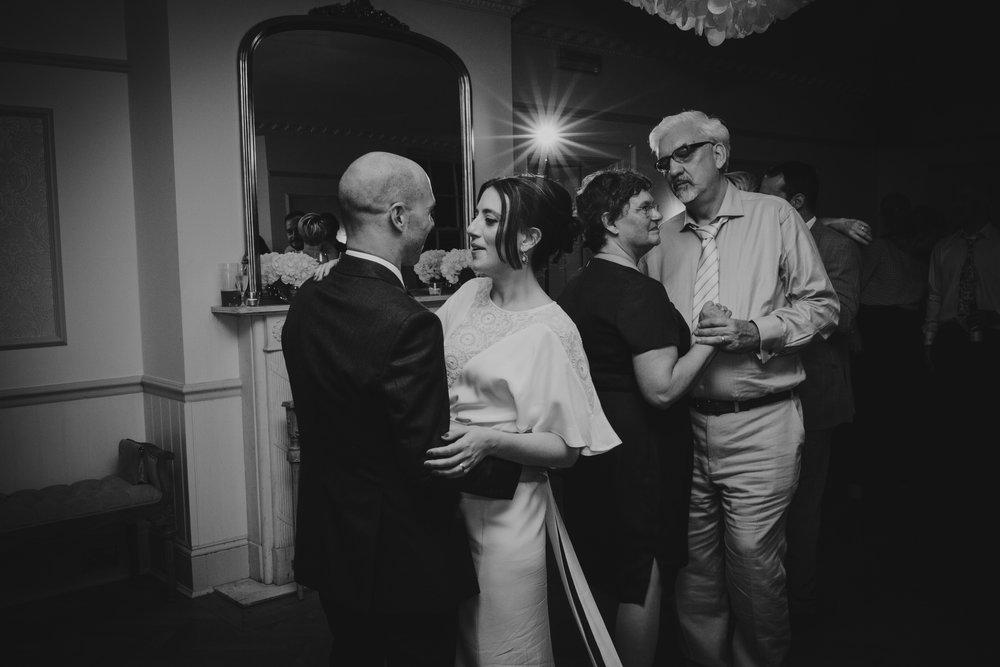 parents first dance Belair House bride groom.jpg