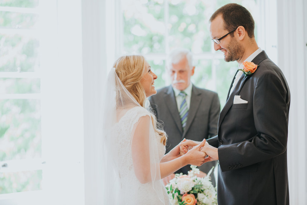 78 just married couple Pembroke Lodge wedding photograher.jpg