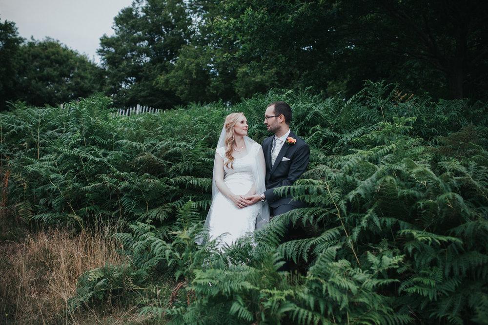 264-bride groom couple portraits Pembroke Lodge.jpg