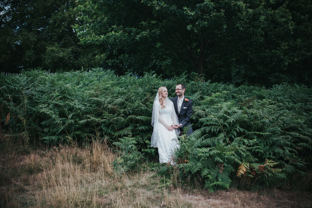 267-bride groom couple portraits Pembroke Lodge.jpg