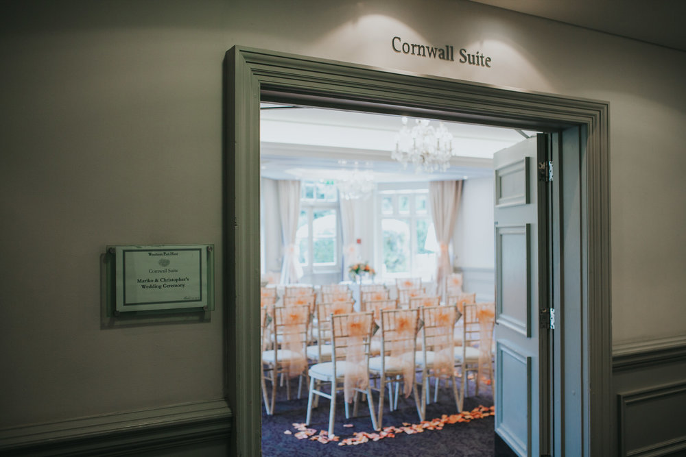 92 Woodlands Hotel wedding ceremony room Cornwall Suite.jpg