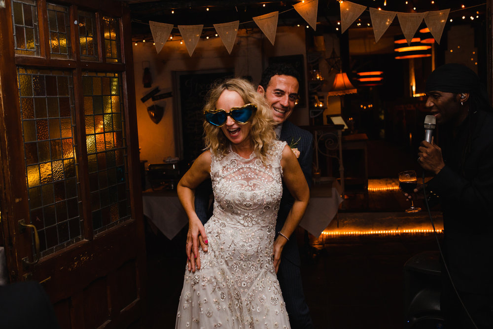 Clapham Metro Bar wedding bride grrom dancing.jpg
