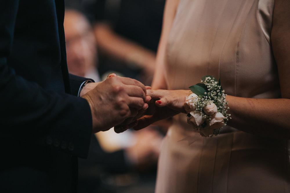 163 Stoke Newington Town Hall wedding ceremony exchange rings.jpg
