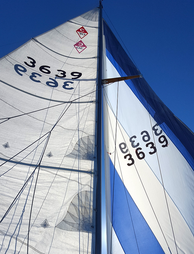 ...a sailor's favorite point of sail...