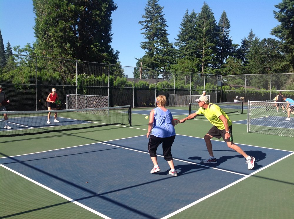 Pickleball in Washougal
