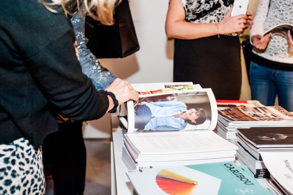 Magazine Caribou #7 ayant pour thème Art et Design  © Maude Touchette Photographe
