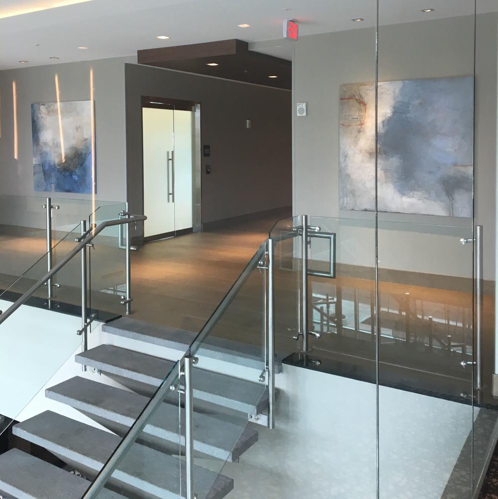 Installation in hotel