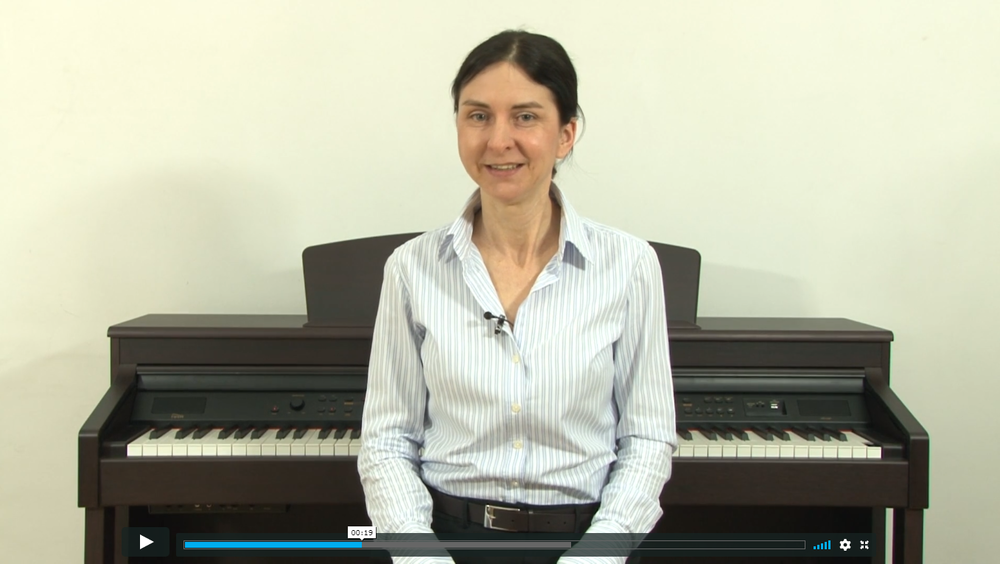 New to the piano?Take our free lesson -