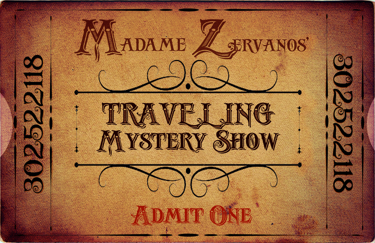 Madame Zervanos' Traveling Mystery Show