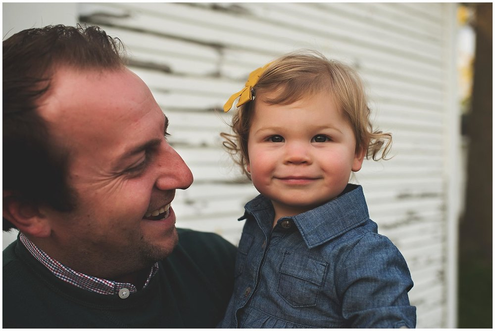 northville lifestyle family photographer - dad and girl