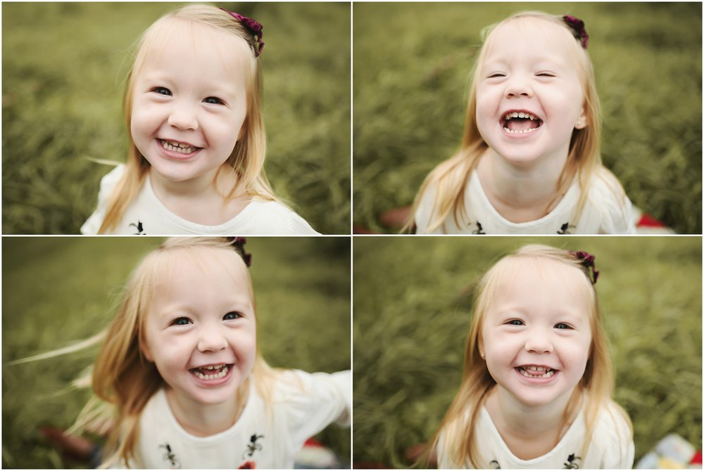karra lynn photography - family photographer milford mi - daughter laughing
