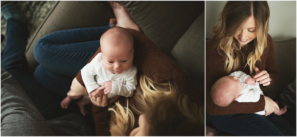 karra lynn photography - newborn photographer northville mi - newborn overhead