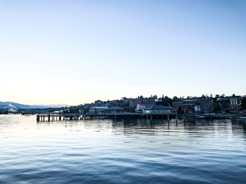 "Port Townsend, established in 1851, is called the ""City of Dreams"" because it was once slated to be the largest city on the West CoAst."