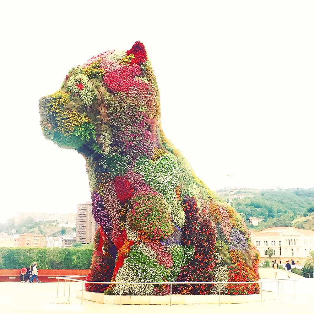 Puppy, 1992, Jeff Koons.