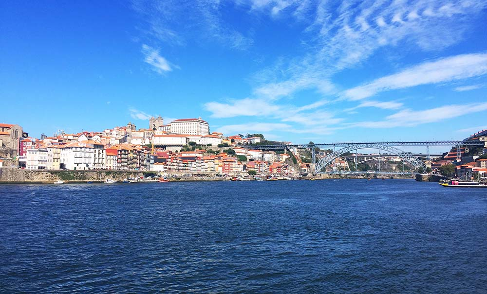 Porto's beautiful harbor.