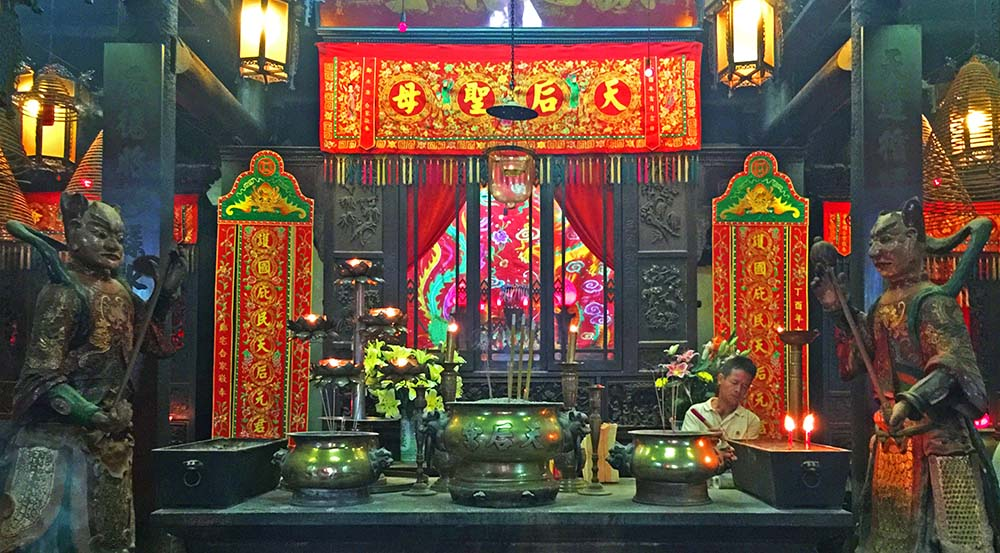 Tin Hau Temple in Causeway Bay.