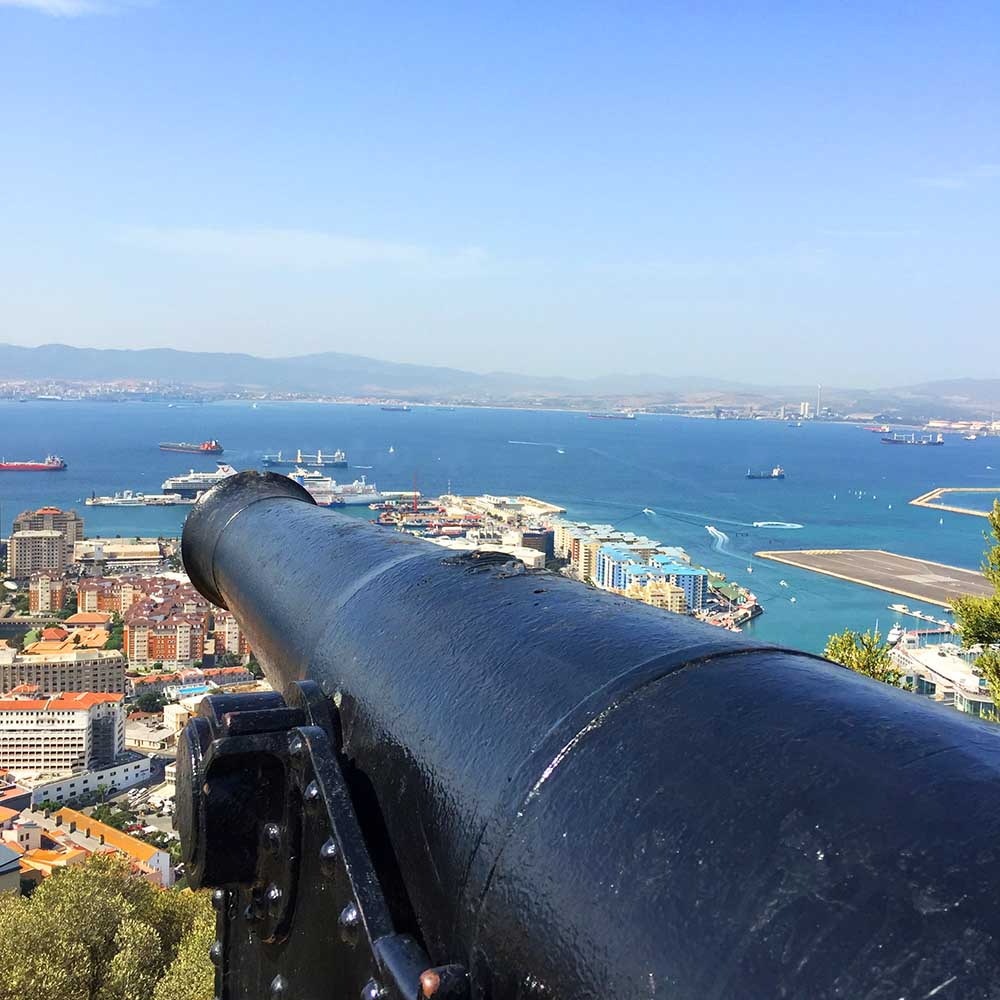 One of Gibraltars many canons!