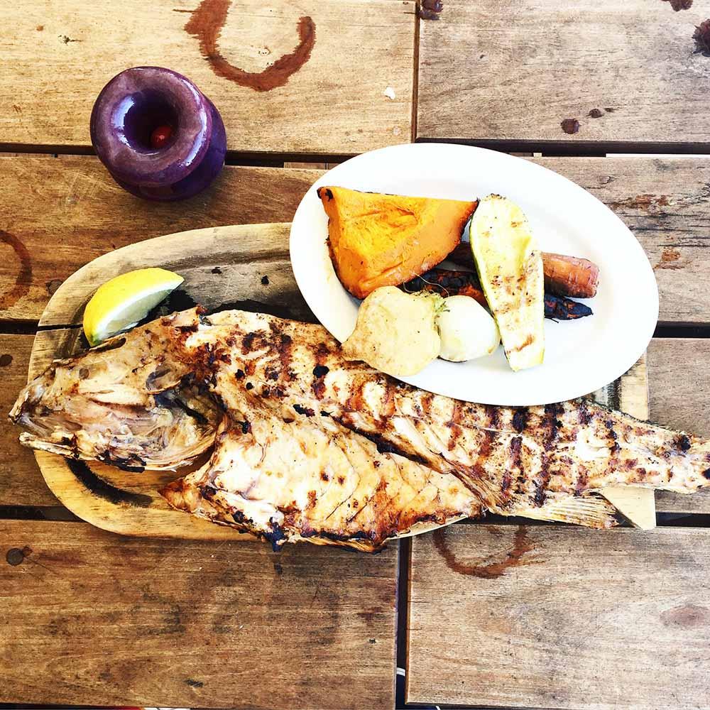 Lunch at Parador La Huella.