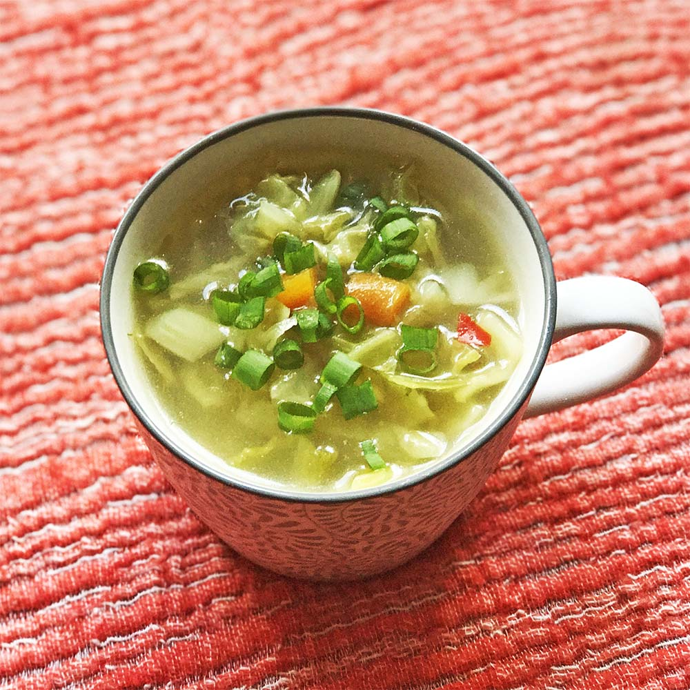 More cabbage soup...